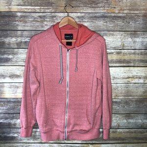 O'Neill coral full zip hoodie sweatshirt men's M